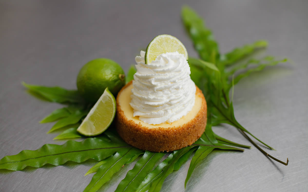 Small Key Lime Tart